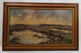 (Kunst) Schilderij, olieverf op doek, C.H. ter Reehorst