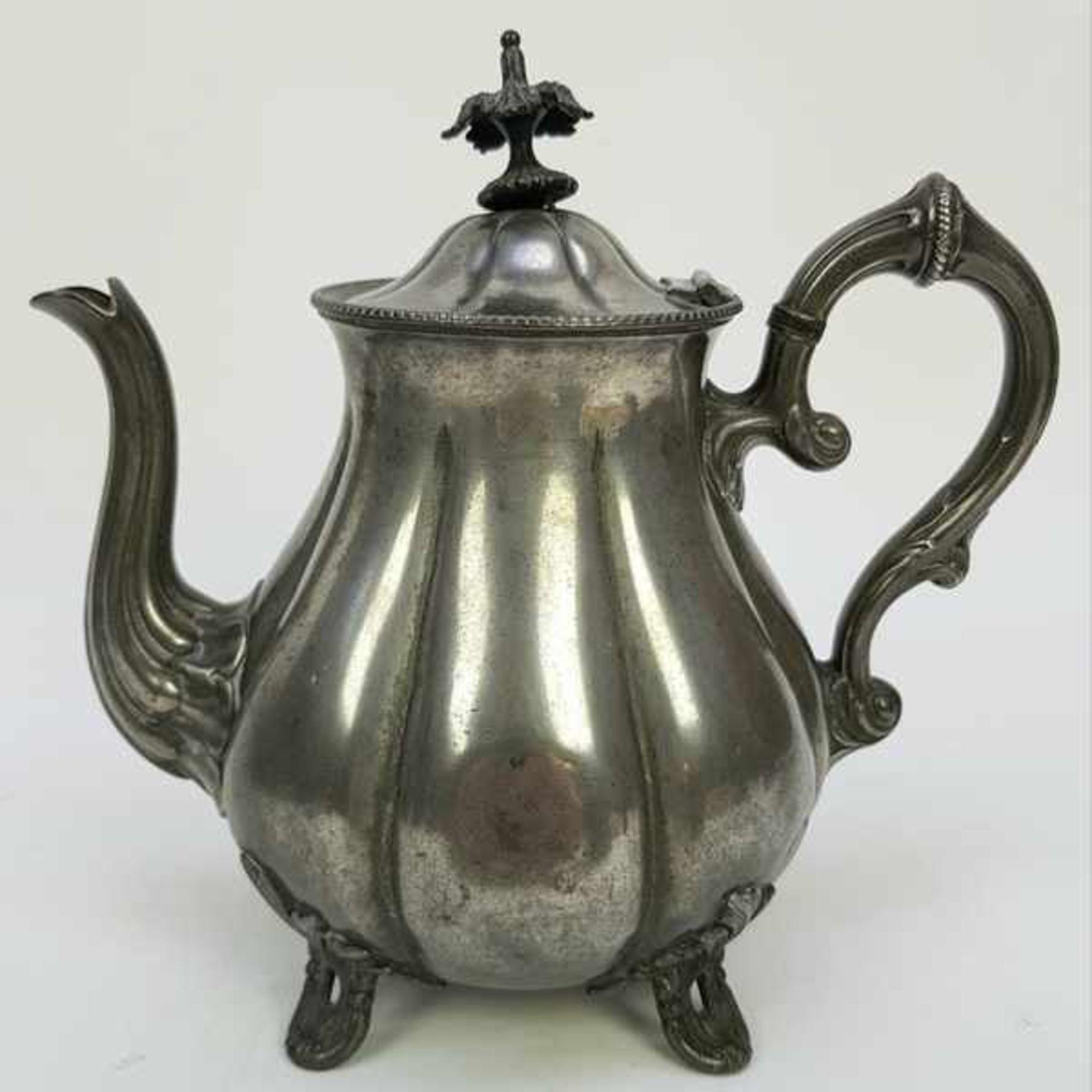 (Antiek) Divers lot thee-en koffiepotten - Bild 6 aus 10