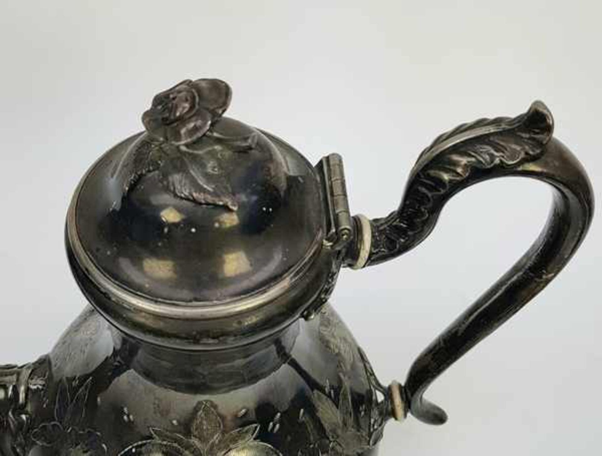 (Antiek) Divers lot thee-en koffiepotten - Bild 3 aus 10