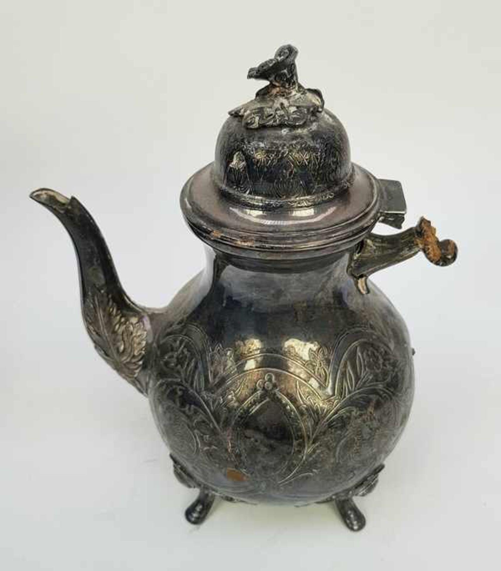 (Antiek) Divers lot thee-en koffiepotten - Bild 7 aus 10