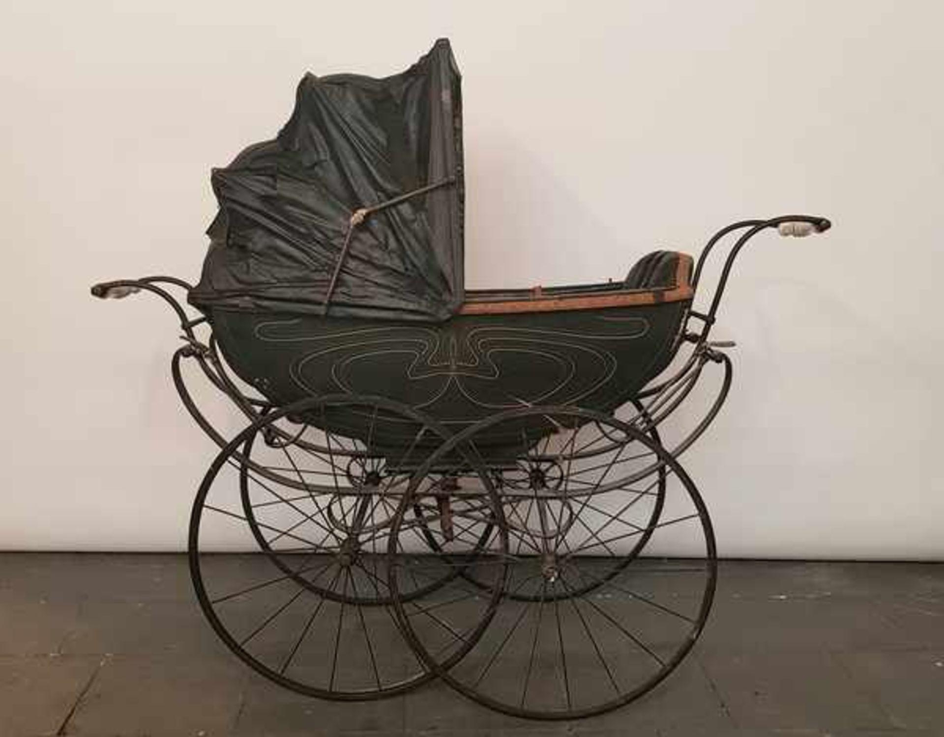 (Antiek) Kinderwagen - Bild 3 aus 5