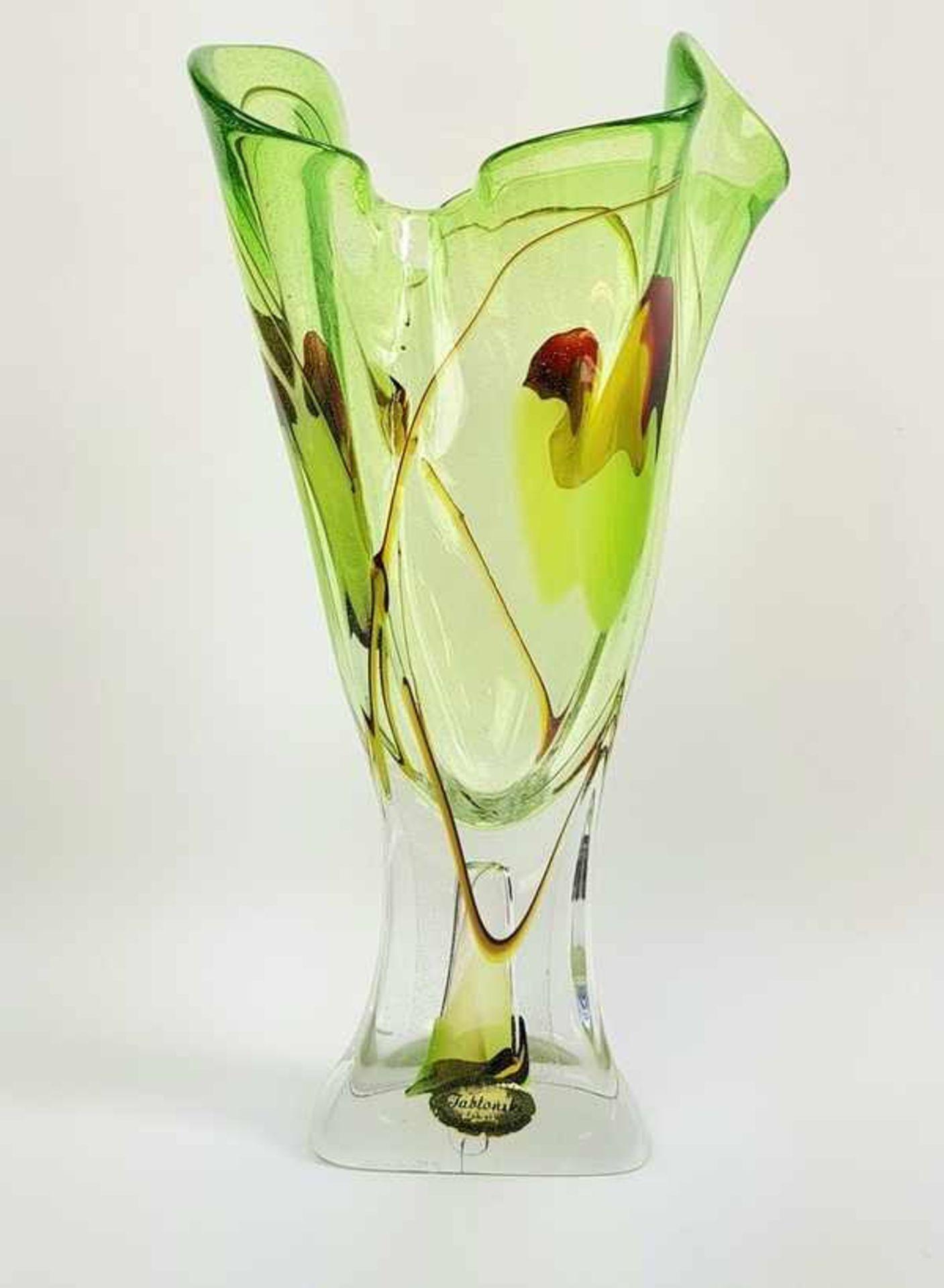 Los 278 - (Toegepaste kunst) Kristallen vaas, Adam Jablonski