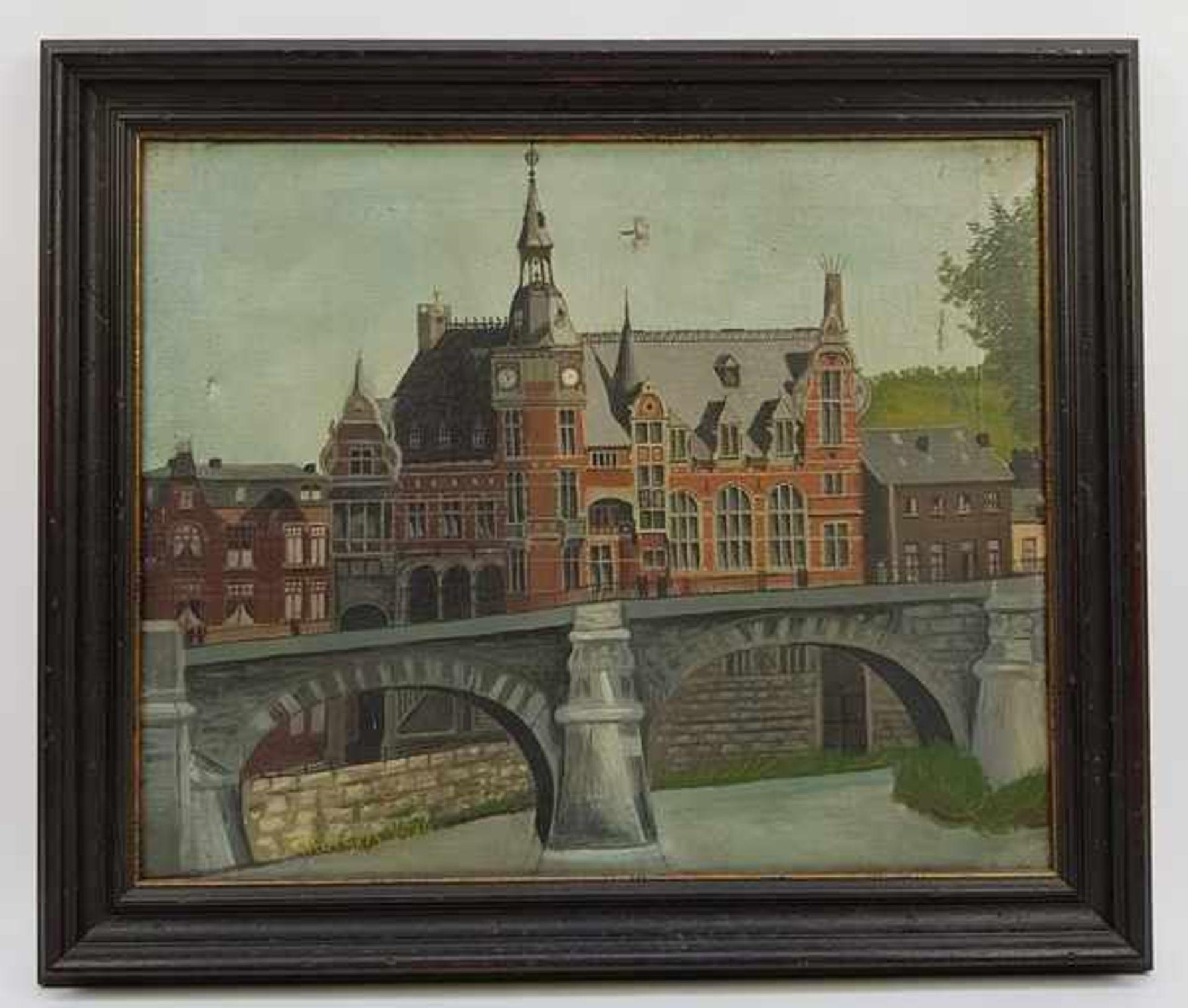 Los 310 - (Kunst) Schilderij, olieverf op doek, Schorgers