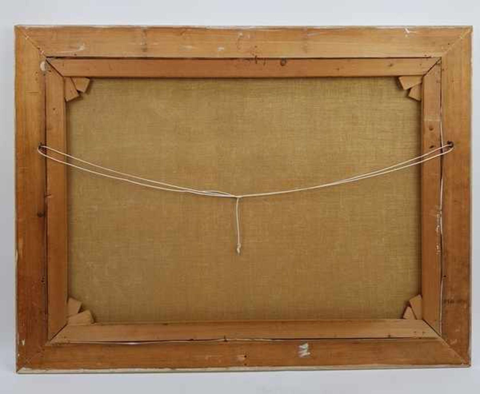 Los 307 - (Kunst) Schilderij, olieverf op doek, G. Roemers