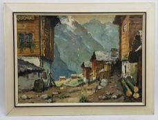 (Kunst) Schilderij, olieverf op doek, G. Roemers