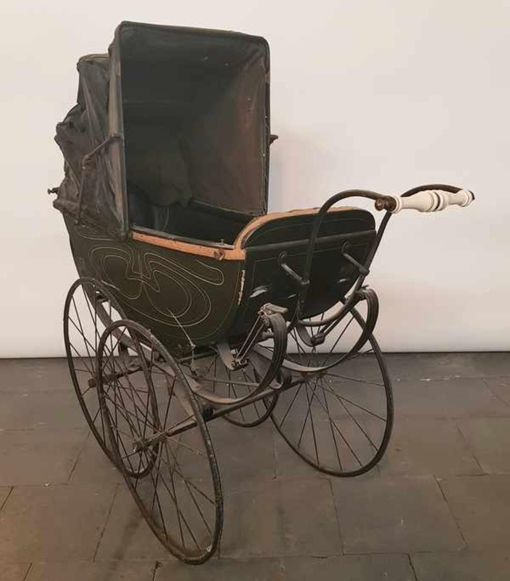 (Antiek) Kinderwagen