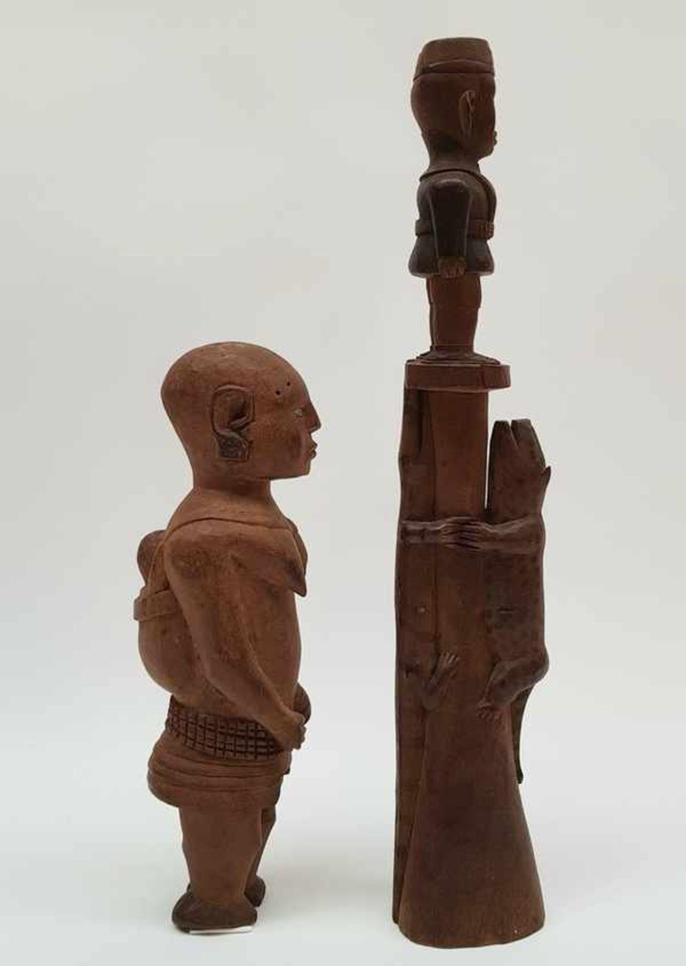Los 155 - (Etnografica) Hout, beelden Neder-Kongo Vili begin 20e eeuw