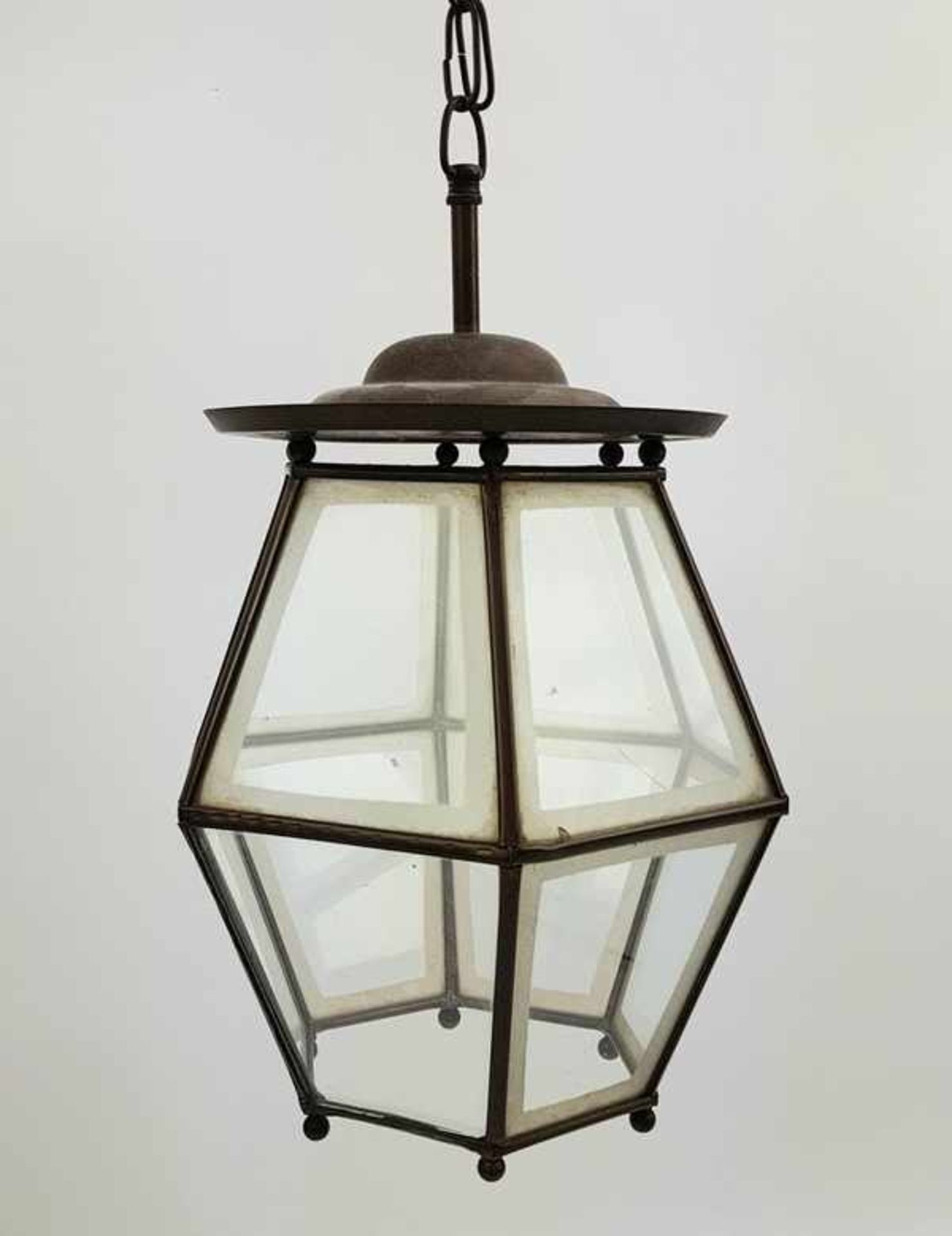 (Antiek) Koperen hanglamp - Bild 2 aus 2