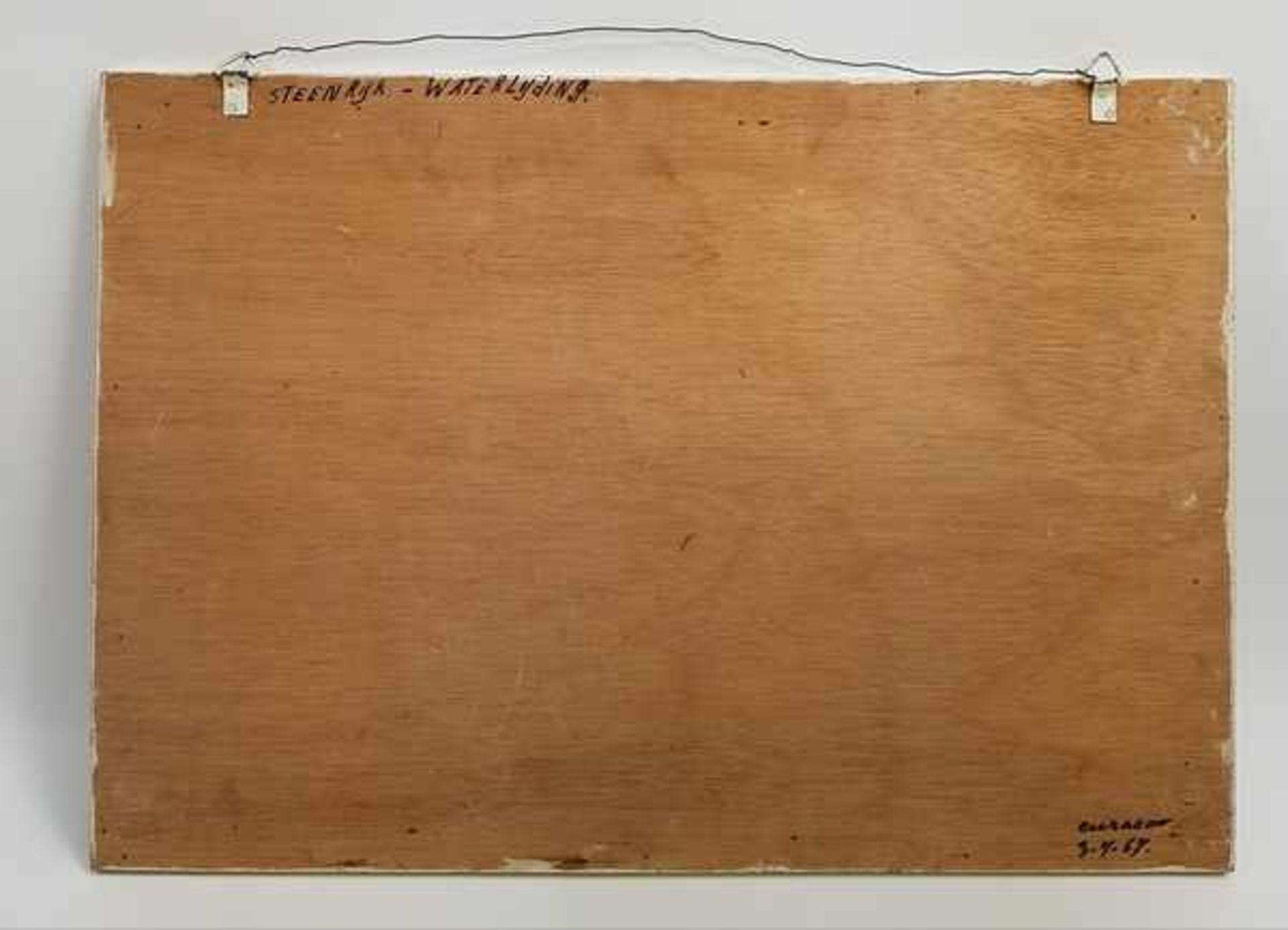 Los 302 - (Kunst) Schilderij, olieverf op board