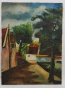 (Kunst) Schilderij, olieverf op doek, J. Viester