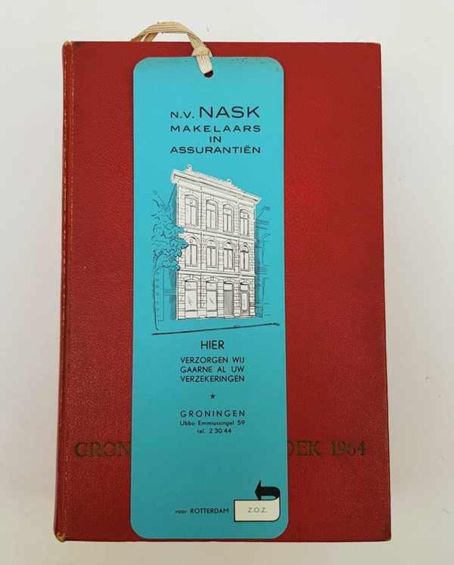 (Boeken) Groninger adresboek 1964 - Bild 2 aus 6
