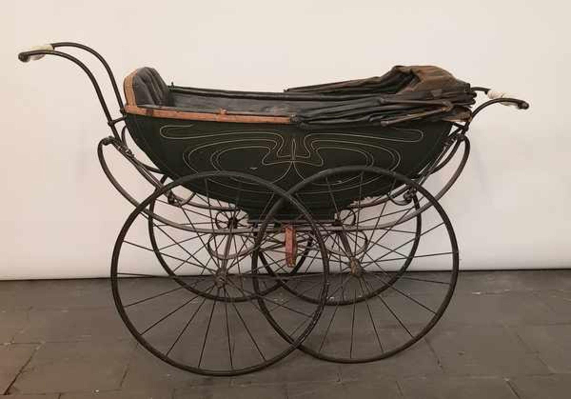 (Antiek) Kinderwagen - Bild 2 aus 5