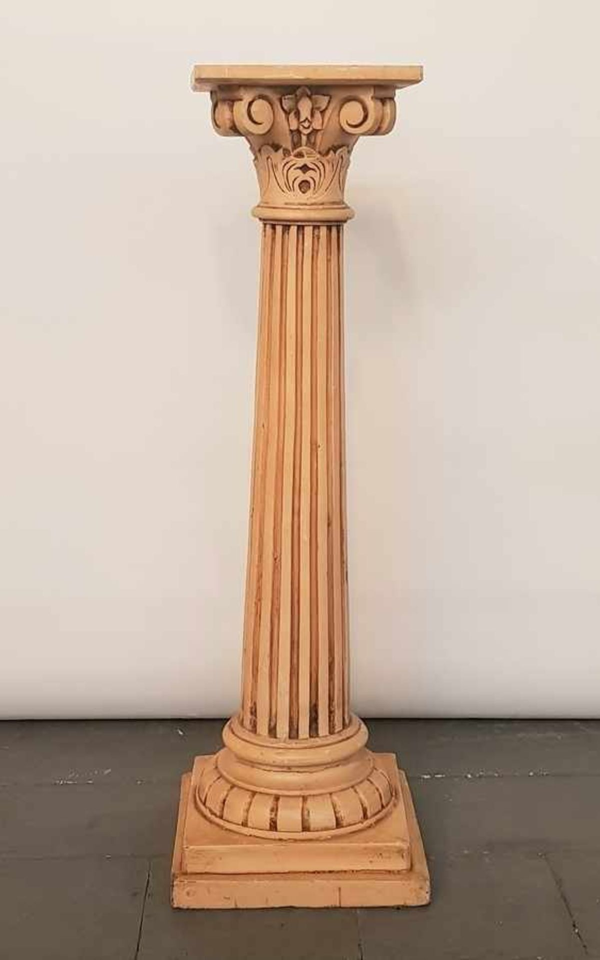 (Curiosa) Houten piëdestal