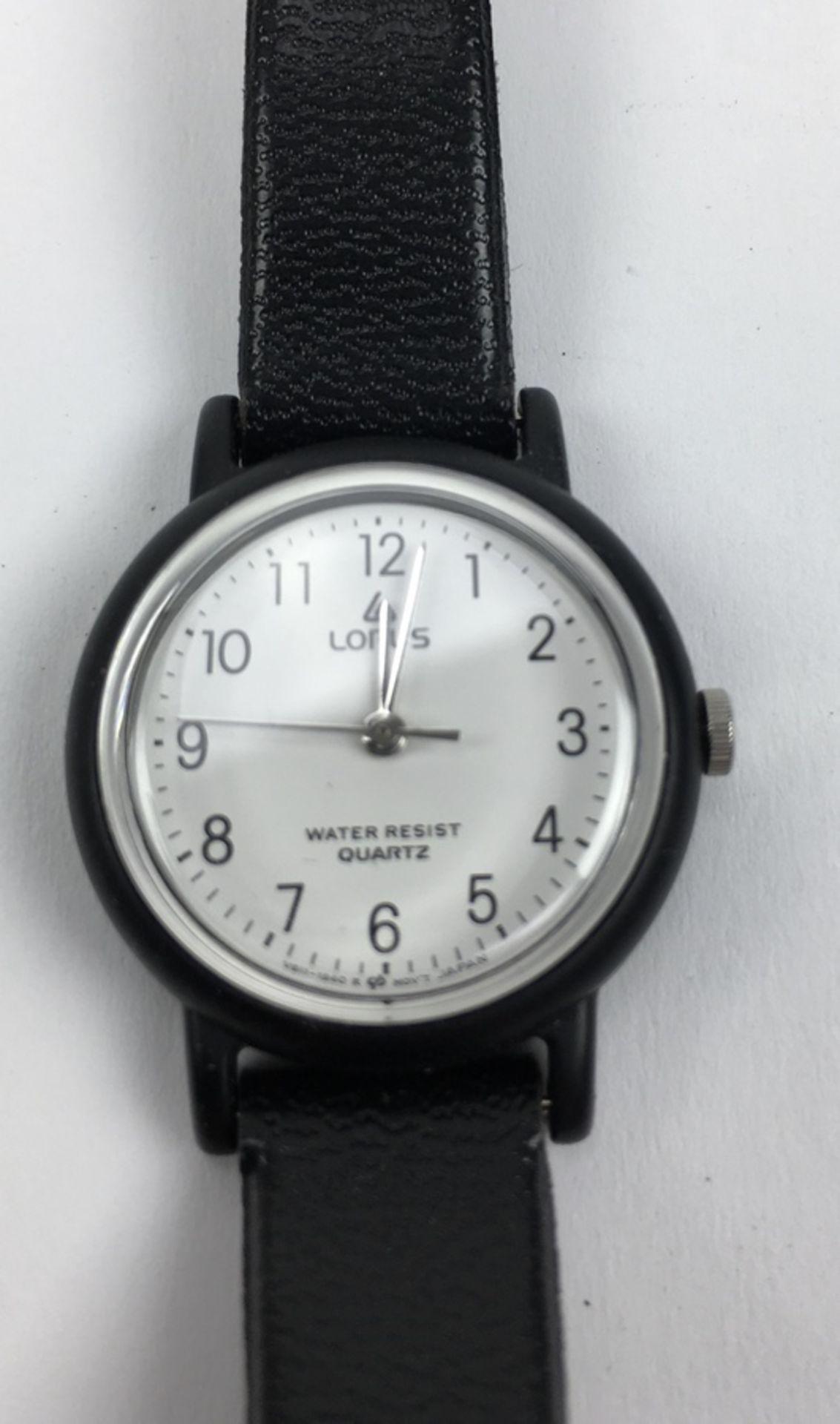 (Sieraden) HorlogesDrie verschillende merken horloges. Conditie: Gebruikssporen, niet getest. A - Image 4 of 7