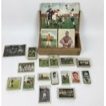 (Curiosa) SportplaatjesDiverse sportplaatjes, voornamelijk voetbal. Conditie: Gebruikssporen. A