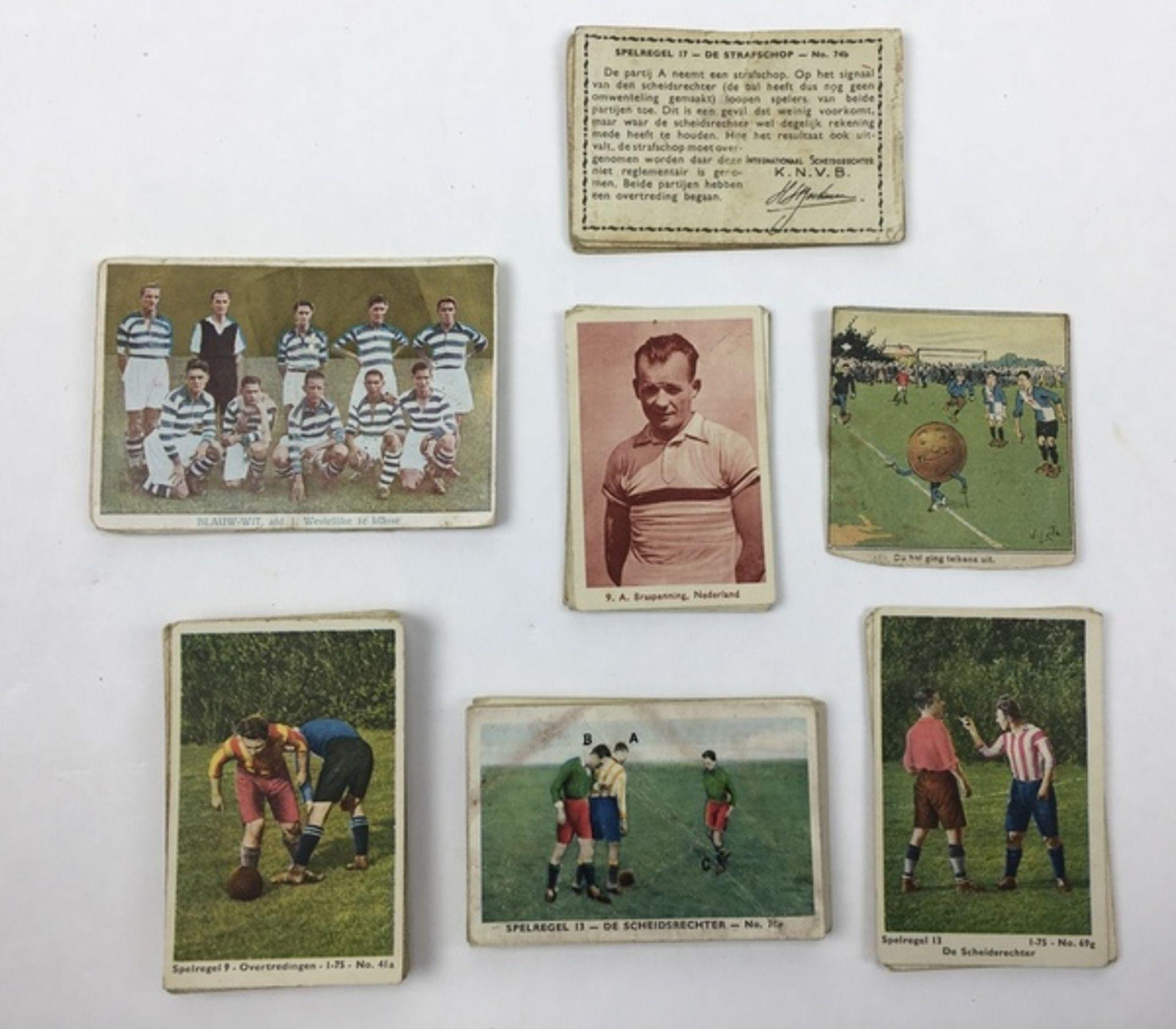 (Curiosa) SportplaatjesDiverse sportplaatjes, voornamelijk voetbal. Conditie: Gebruikssporen. A - Image 6 of 8