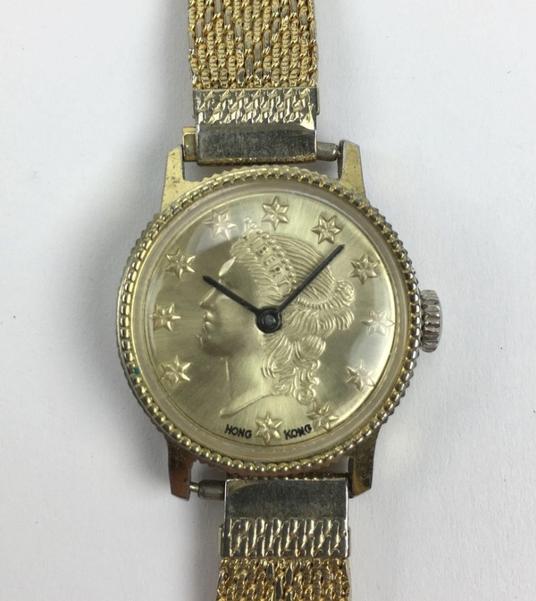 (Sieraden) HorlogesZes verschillende merken horloges, waaronder een Junghans. Conditie: Gebruik - Image 2 of 3