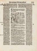 Guilelmus Parisiensis: Postilla sup[er] Epistolas [et] Euangelia: per totius anni circumitum: De