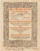Sammelband mit 17 Schriften zu verschiedenen Themen. 1592-1603. 20,5 x 16,5 cm. Pgt. m.