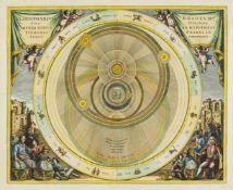 Himmelskarte. - Planisphaerium Braheum, sive Structura Mundi Totius es Hypothesi Tychonis Brahei