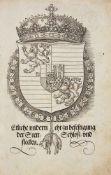 Dürer, Albrecht: Etliche vnderricht/ zu befestigung der Stett/ Schlosz/ vnd flecken. Nürnberg: [