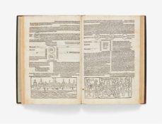 Rolevinck, Werner: Fascilus temporum. Memmingen: Albrecht Kunne 1482 [nicht nach 09.08]. 26,5 x 18,4