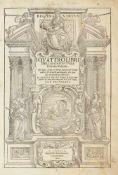 Palladio, Andrea: I quattro libri dell'architettura. Ne' quali, dopo un breve trattato de' cinque