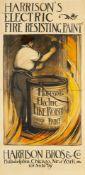 ANONYMHARRISON'S ELECTRIC FIRE RESISTING PAINT - HARRISON BROS. & CO, PHILADELPHIA, CHICAGO, NEW