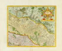 Frankreich/Elsass. - Alsatia inferior, Nördliches Elsaß mit dem Oberrhein und Straßburg im Zentrum