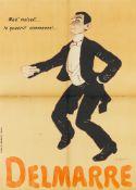 ADRIEN BARRÈRE 1877 - 1931MAD' MOISELL'... LE QUADRILL' COMMENCE! ... – DELMARRE UM