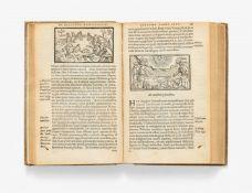 Magnus, Olaus: Historia de gentibus septentrionalibus. Antwerpen: Plantin 1558.15 x 9,5 cm. Mit