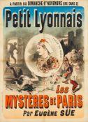 JULES CHÉRET 1836 - 1932PETIT LYONNAIS - LES MYSTÈRES DE PARIS PAR EUGÈNE SÜE