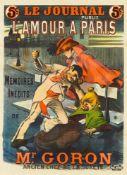 PAUL BALLURIAU 1860 - 1917LE JOURNAL PUBLIE – L'AMOUR A PARIS – MEMOIRES INÉDITS DE MR. GORON –