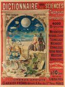 FERNAND BESNIER 18(?) - 1927DICTIONNAIRE GÉNÉRAL DES SCIENCES THÉORIQUES ET APPLIQUÉS. GARNIER