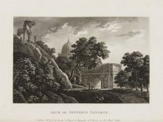 [Merigot, James]: A select collection of views and ruins in Rome and its vicinity; executed from