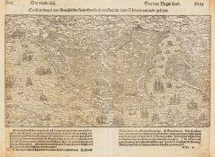 Türkei/Konstantinopel. Constantinopel des Griechischen Keyserthumbs Hauptstatt, im Land Thracia am