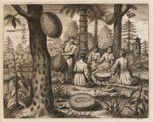 Kircher, Athanasius: Toonneel van China. Door veel ... Vertoningen van de Natuur en Kunst ...