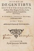 Magnus, Olaus: Historiae de gentibus septentrionalibus ... a Cornelio Scribonio Graphaeo in epitomen