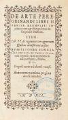Pyrckmair, Hilarius (u.a.): De arte peregrinandi libri II. variis exemplis. In primis vero agri