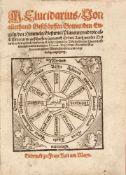 M. Elucidarius/ Von allerhand Geschöpffen Gottes/ den Engeln/ den Himmeln/ Gestirns/ Planeten/ vnd