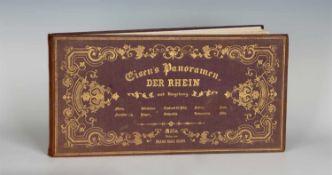 Eisen, F. C.: Eisen's Panoramen. Der Rhein und Umgebung (Deckeltitel). Köln: Franz Carl Eisen (um