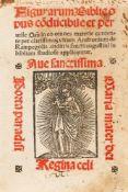 Rampigollis (Rampegolus), Antonius: Figurarum Biblie opus co[n]ducibile et perutile. Köln: (