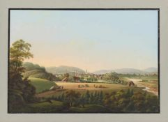 Großherzogtum Berg. - Malerische Ansichten aus dem Groszherzogthum Berg aufgenommen und in Gouaché