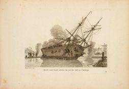 Baugean, Jean-Jérôme: Recueil de petites marines, représentant des navires de diverses nations, et