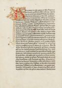 Guido de Monte Rocherii: Manipulus curatorum. [Blaubeuren? Drucker des Lotharius, d.i. Konrad