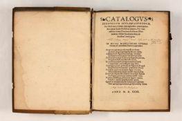 Trithemius, Johannes: Catalogvs scriptorvm ecclesiasticorvm, siue illustrium virorum, cum
