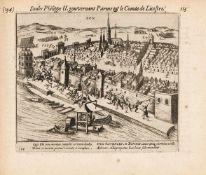 Baudartius, Willem: [Les Guerres de Nassau]. Polemographia Auraico-Belgica. [Nebentitel:] Pourtraits