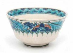 De Porceleyne Fles, DelftA Persian-inspired decorated ceramic bowl, circa 1910-1930, signed