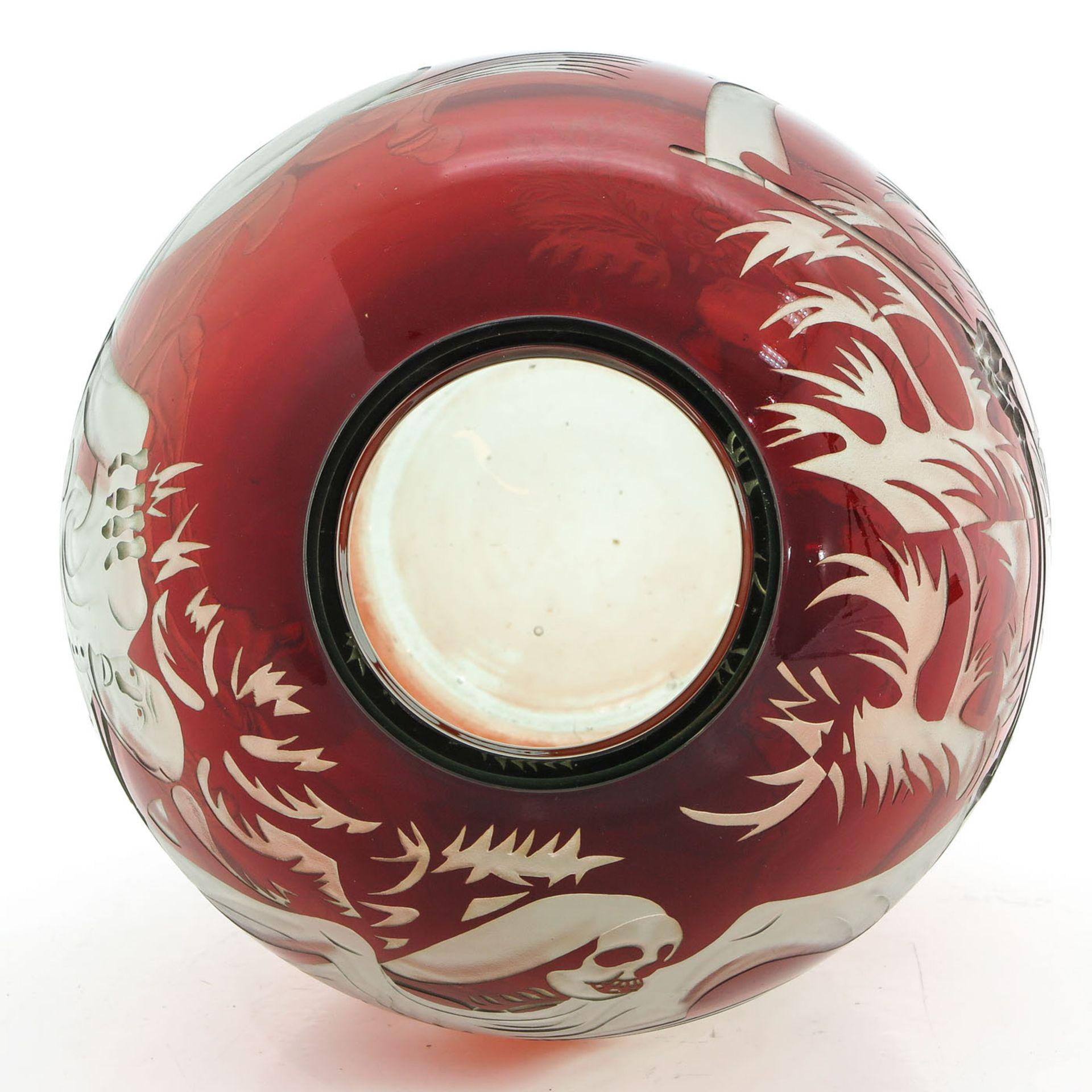 Los 1047 - An Art Glass Vase