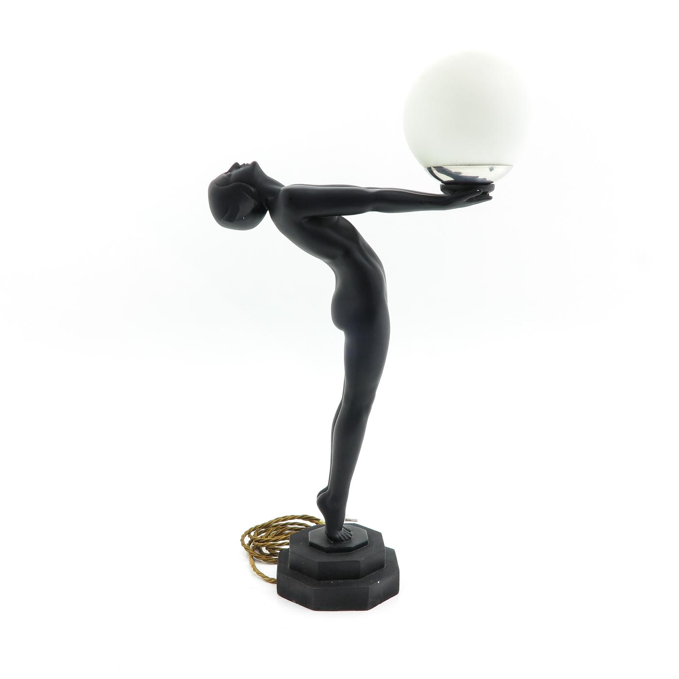 Lot 1037 - An Art DecoTable lamp